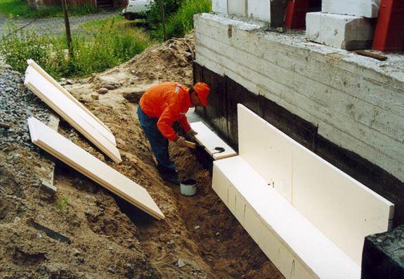 Гидроизоляция фундамента строительство гидроизоляция flex для басейнов