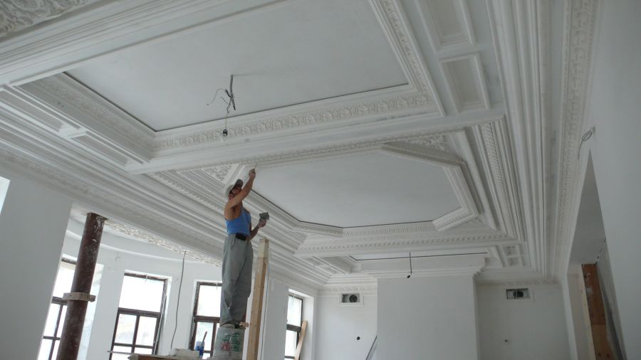Ремонт и отделка потолков своими руками