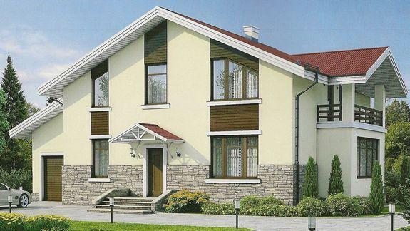 Покраска фасада квадратный метр цена